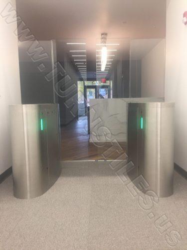 L3-Clark-NJ-Installation-sliding-Optical-Turnstiles-us-26