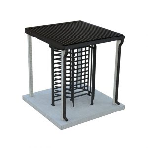 www-TURNSTILES-us-8x8-basic-turnstile-canopy-w-Single-PCB